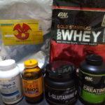 【筋肥大・最大筋力向上・疲労軽減・免疫力向上】いま飲んでいるオススメサプリメント一覧!