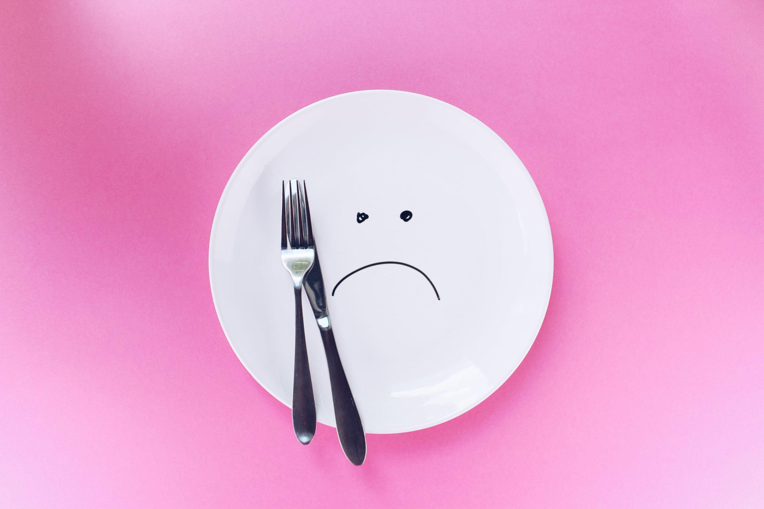 小さいお皿,満腹感得られるお皿